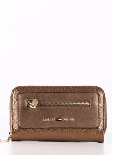 Polo Racouet Club Clutch / El Çantası Bronz